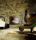 קמין עץ בנוי Foyer 700 Panoramique