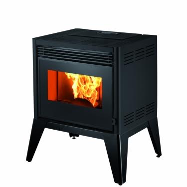 קמין פלט - EIDER - C077FK - HJ 11 kW black